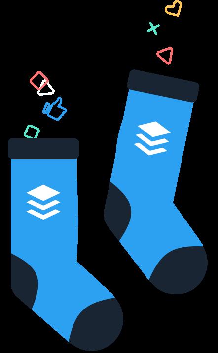 Some buffer swag socks