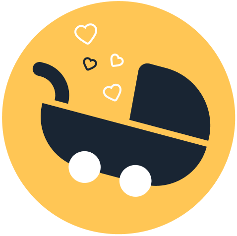 A baby carriage