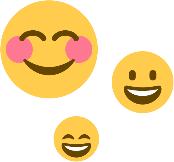 A smiley emoji