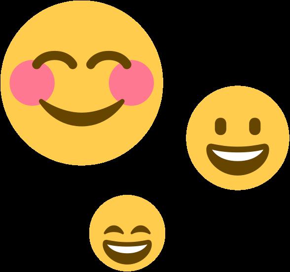 A smiley emoji